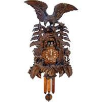 Cuckoo Clock - Sternreiter Large Eagle NEW Black Forest Mechanical Cuckoo Clock #8395
