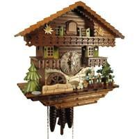 Cuckoo Clock - Sternreiter Musicians Black Forest Mechanical Cuckoo Clock #1390