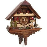 Sternreiter Woodchopper NEW Chalet Black Forest Mechanical Cuckoo Clock #8287