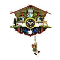 Cuckoo Clock - Trenkle Uhren WULFRIC Black Forest Clock #57000 Sold By Hermle