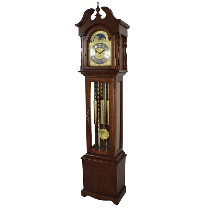 Hermle Grandmother Clock DIY Kit, 451 Chain Driven Westminster Chime Movement, Cherry