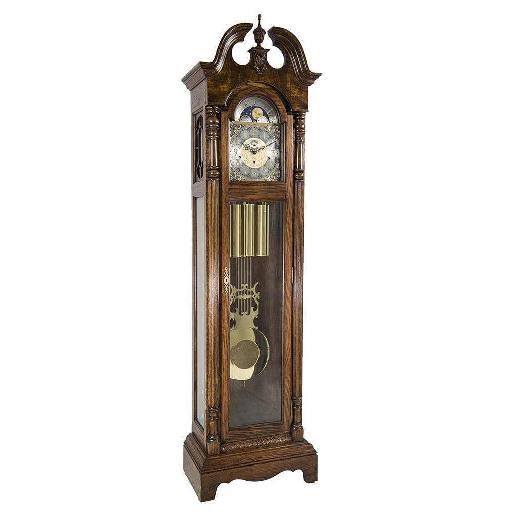 Grandfather Clock - Hermle CHESTER Grandfather Clock #010874041161, Dark Oak
