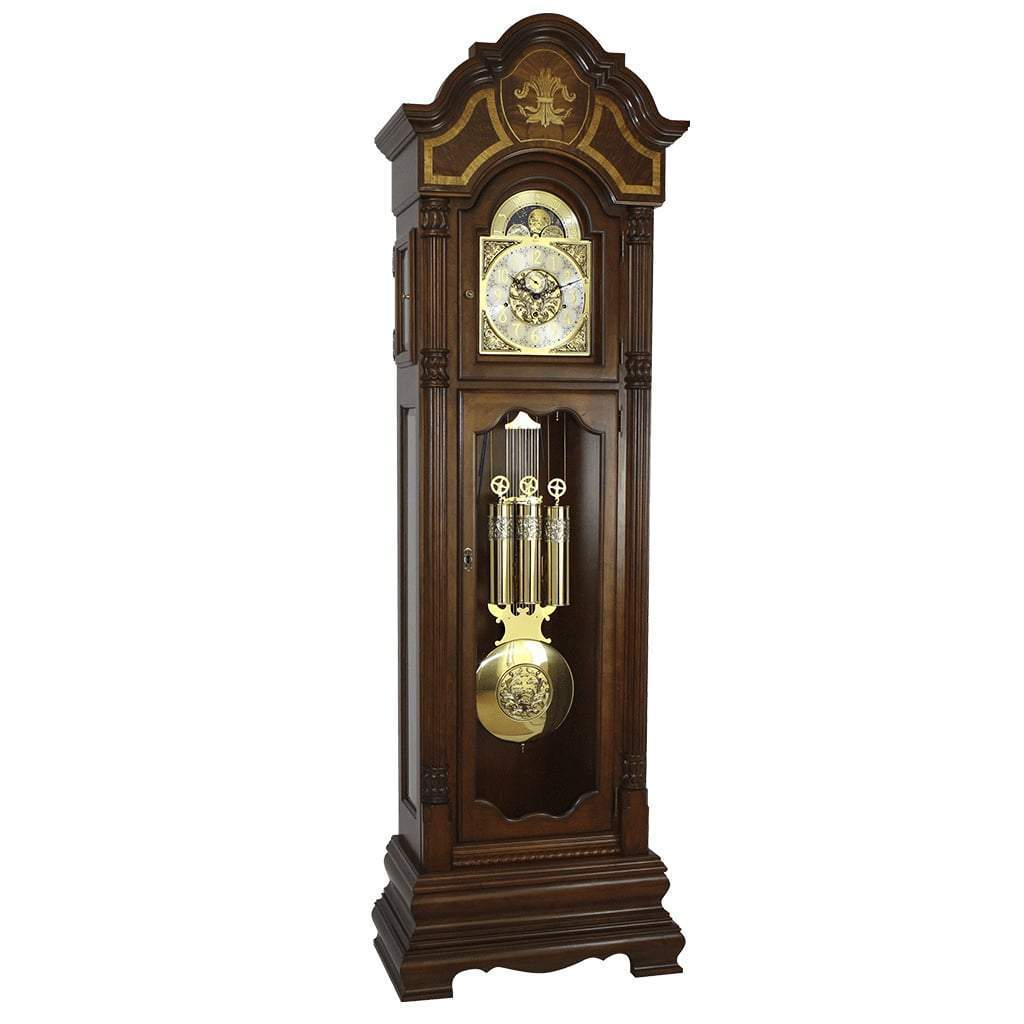 Grandfather Clock - Hermle TAYLOR Grandfather Clock #010803N91161, Cherry