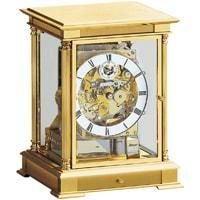 Mantel / Mantle / Table Clock - Kieninger 1240-06-05sk WELLINGTON Mechanical Mantel Clock With Triple Chimes And Calendar