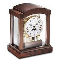 Kieninger 1242-22-02 Mechanical Mantel Clock with Triple Chimes  in Cherry