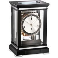 Mantel / Mantle / Table Clock - Kieninger 1267-96-02 CHARLESTON Classic Mantel Clock With Triple Chimes On 8-Rod Gong And A Sunbeam Dial In Black