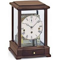 Kieninger 1268-23-02 Mantel Clock, Triple Chime, Walnut