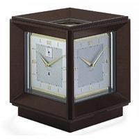 Kieninger 1269-22-01, World Time, 4 dial, 31-day, Open Escapement Table Clock, Ltd 100