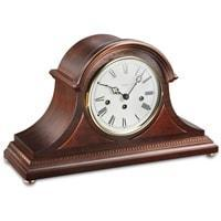 Mantel / Mantle / Table Clock - Kieninger 1274-23-01 Traditional Mantel Tambour Clock With Westminster Chimes And 8-Day Power Reserve In Walnut