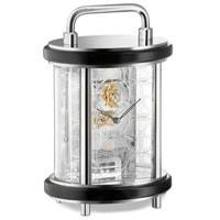 Mantel / Mantle / Table Clock - Kieninger 1279-02-01 Carriage Style Mantel Clock With Exclusive Tourbillon Movement And Laser Engraving