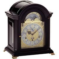 Kieninger Haffner 1708-96-01 Bracket Mantel Clock, Triple Chimes, 9 Bells, Black