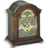 Kieninger 1756-23-01 Mozart Anniversary Mantel Clock, Calendar, Moonphase, Walnut, Ltd 250