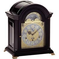 Kieninger 1756-96-01 MOZART MELODIES 250 Anniversary Edition with Nested Bell, Calendar and Moonphase in Black