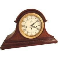 Mantel / Mantle / Table Clock - Sternreiter Tristan MM 808 126 08 Mechanical Tambour Mantel Clock, 8-Day, Cherry