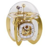 Mechanical Astronomical Clocks - Hermle ASTRO Mechanical Tellurium Table Clock 23002000352, Brass