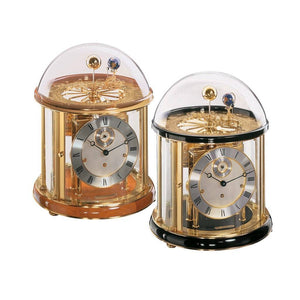 Mechanical Astronomical Clocks - Hermle TELLURIUM I Mechanical Table Clock #22805740352, Black