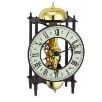 Hermle BONN Mechanical Skeleton Table Clock 23001000711, Brass