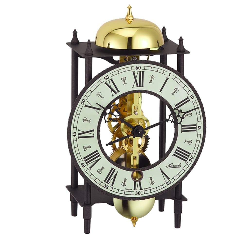 Buy Hermle BONN Mechanical Skeleton Brass Table Clock | Metal Table ...