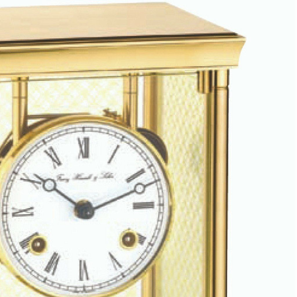 Hermle LYON Mechanical Table Clock / Mantle Clock 22997000131, Brass