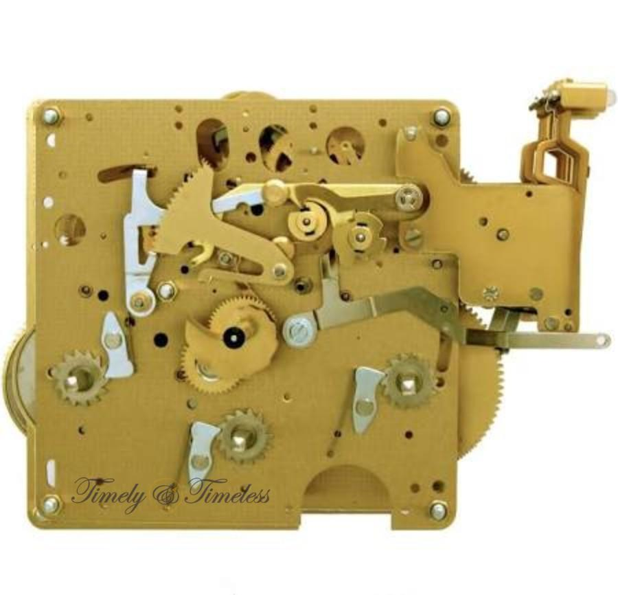 Movement - Hermle Clock Movement 1051-030A Gearing 32, 34, 38, 43, 45, 48, 55, 66 Or 75cm