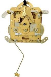 Hermle Clock Movement 141-023 Gearing 45cm DB