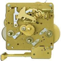 Movement - Hermle Clock Movement 341-020 Gearing 11cm With Pendulum