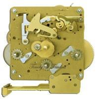 Hermle Clock Movement 341-020 Gearing 25, 33.5, 35, 38.5 or 45cm