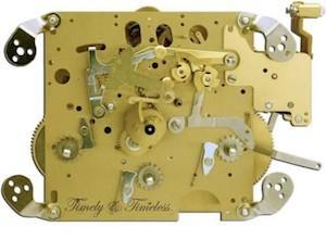 Hermle Clock Movement 351-030A Gearing 34, 38, 43, 45, 48, 55 or 75cm