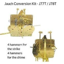 J-78T Jauch Conversion Movement Mechanism Kit for Jauch Grandfather - Unit Conversion to Hermle 1151-050.94cm Triple Chime