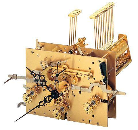 Kieninger Clock Movement KSU 78, 116cm with Triple Chime