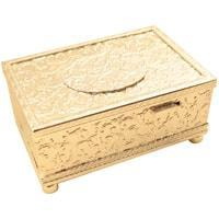 Music Box - MMM Bird In A Box MU 214 110 20, Silver Case, Exquisite And Rare Music Box With Automated Bird