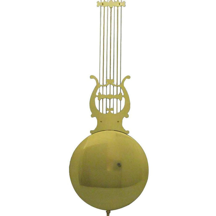 "Hermle Clock PENDULUM LYRE 114 CM, Straight Rods,  270 mm / Over 10.5"" Bob Size"