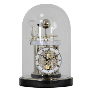 Quartz Astronomical Clocks - Hermle ASTROLABIUM II Mantel / Table Quartz Clock 22836742987, Black
