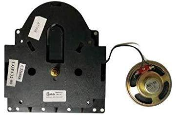 Dual Chime Quartz Clock Movement for Grandfather Clocks HM354476, for Hermle 2214, 2215W, 2215