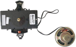 Quartz Clock Movement - Dual Chime Quartz Clock Movement With Pendulum  HM354472, 16mm, Replaces Hermle 2114, 2115