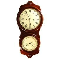 Sternreiter Ithaca SW 808 786 08 Mechanical Tambour Wall Clock, 8-Day, Cherry