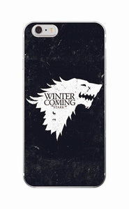 Winter is Coming Black BG - Cellfy