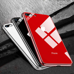 Luxury Glass Case For Apple iPhone