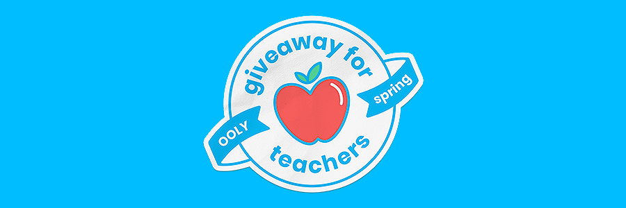 ooly spring teacher grant giveaway