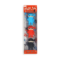 Package of Ninja Pencil Erasers