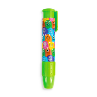 Green Monster ClickIt pencil eraser