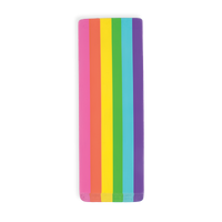 OOLY Jumbo Rainbow Scented Eraser on white background