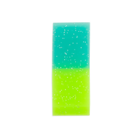 Lime colored Oh My Glitter Jumbo Eraser