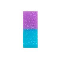 Purple colored Oh My Glitter Jumbo Eraser