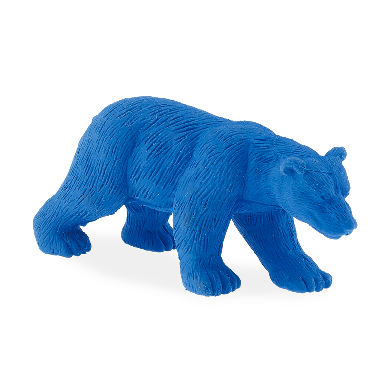 Bear zoo eraser