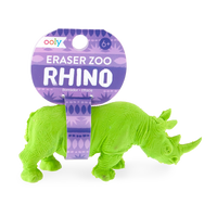 Rhino Eraser with tag