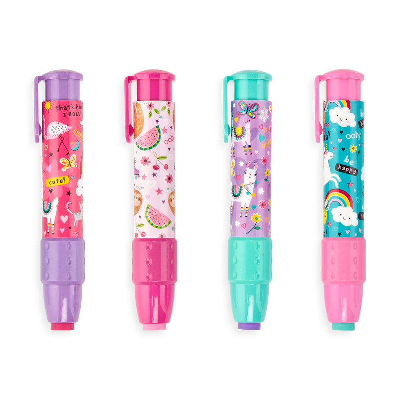 OOLY Fantastic Friends ClickIt Eraser  4 designs