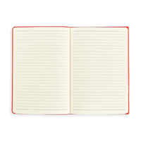 Open Flipside Notebook showing lined pages