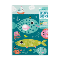 Friendly Fish Doodle Pad Duo Sketchbooks - Set of 2
