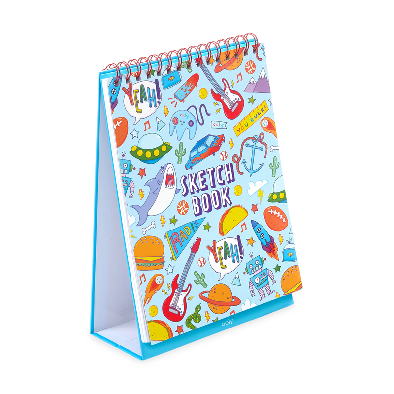 Sketch and Show Standing Sketchbook Awesome Doodle Book